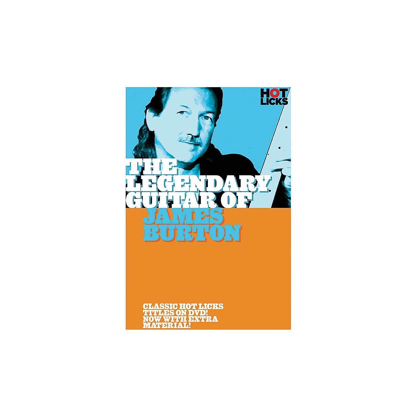 Music Sales The Legendary Guitar of James Burton Music Sales America Series DVD Performed by James Burton thumbnail