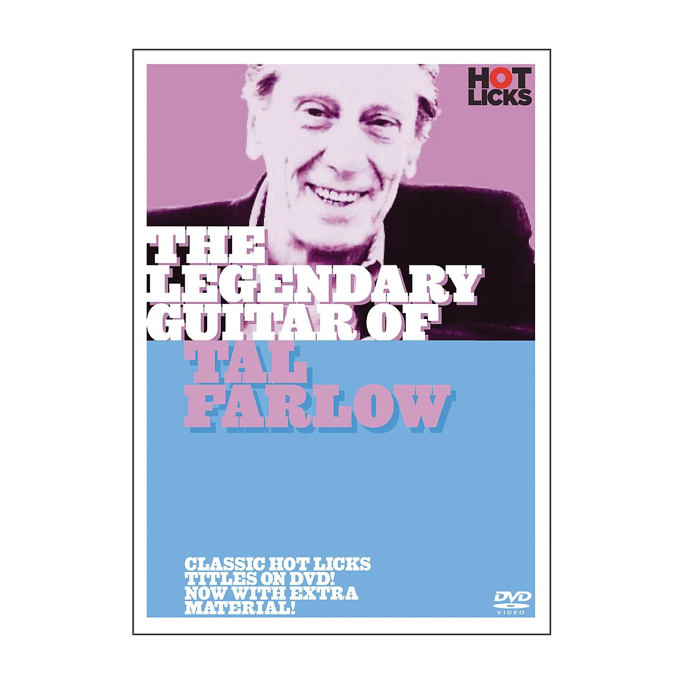 Hot Licks The Legendary Guitar of Tal Farlow DVD thumbnail