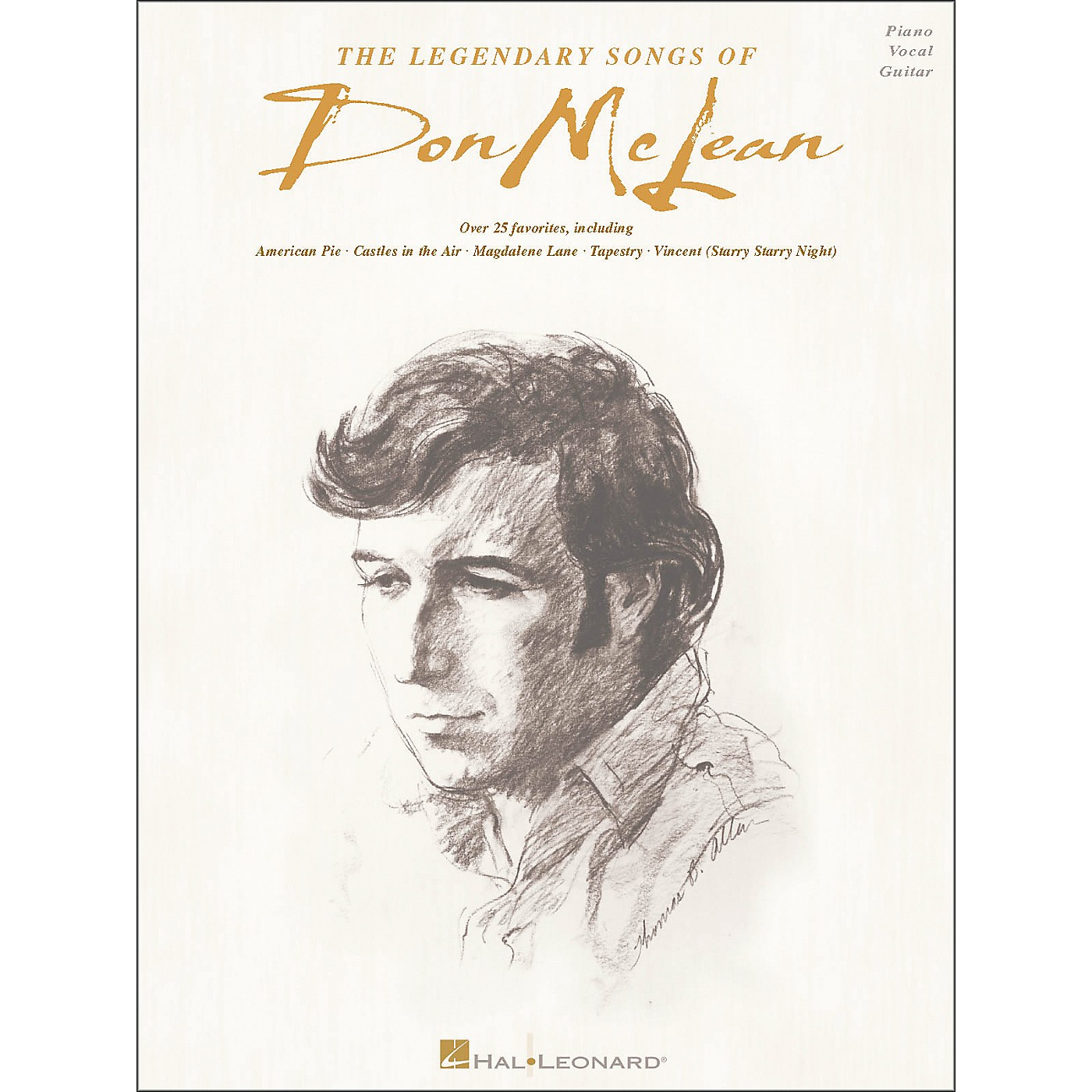 Hal Leonard The Legendary Songs of Don McLean (Piano, Vocal, and Guitar Songbook) thumbnail