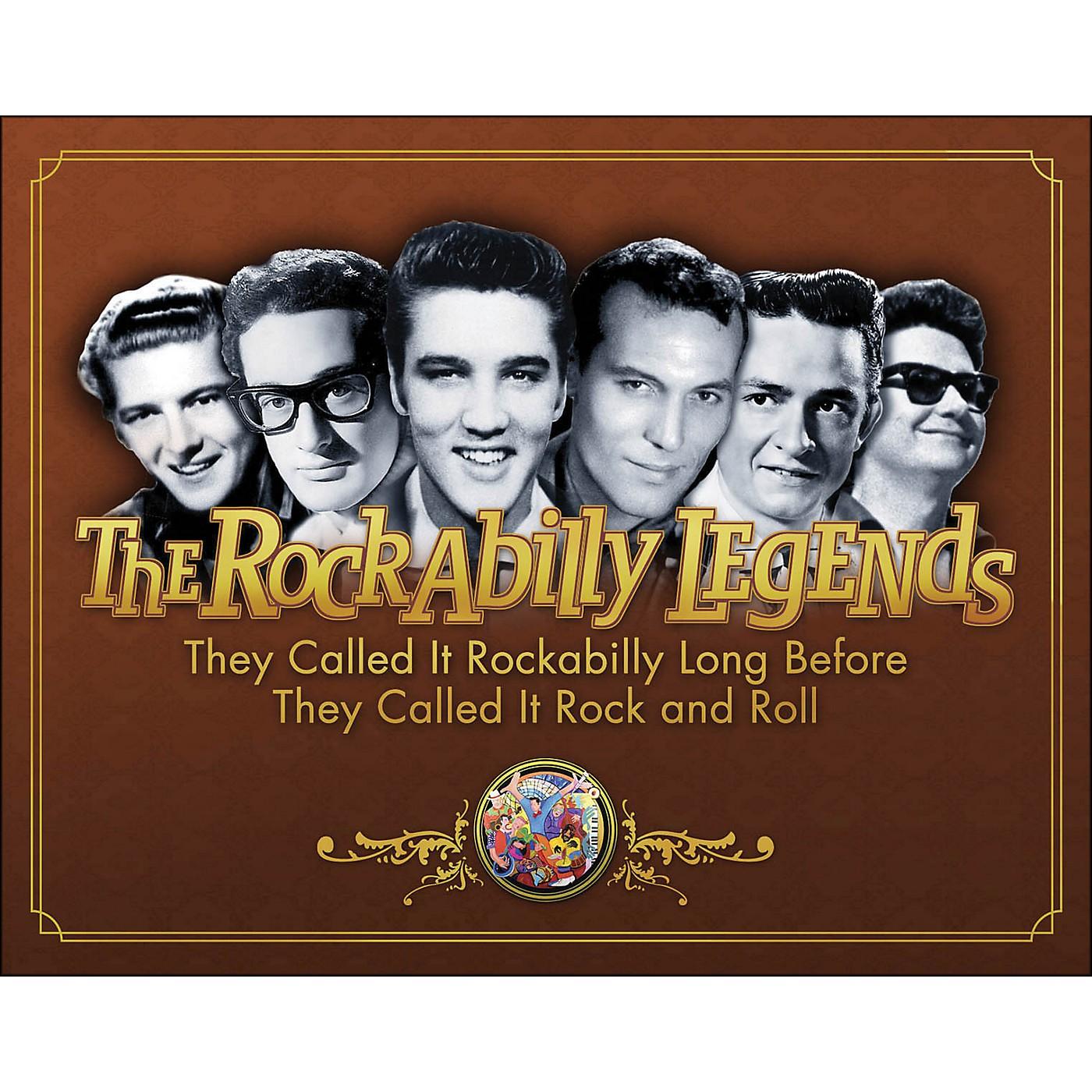 Hal Leonard The Legends Of Rockabilly - Book/DVD thumbnail