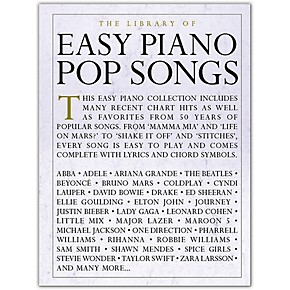 Music Sales The Library of Easy Piano Pop Songs