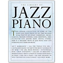 Music Sales The Library of Jazz Piano for Piano Solo