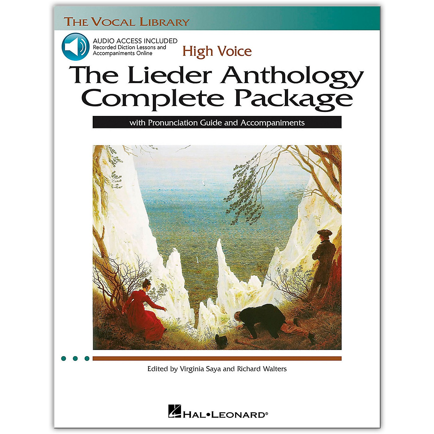 Hal Leonard The Lieder Anthology Complete Package for High Voice Book/Online Audio thumbnail