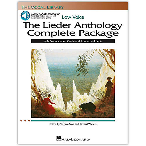 Hal Leonard The Lieder Anthology Complete Package for Low Voice Book/Online Audio thumbnail