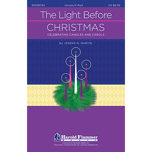 Shawnee Press The Light Before Christmas Preview Pak Composed by Joseph M. Martin thumbnail