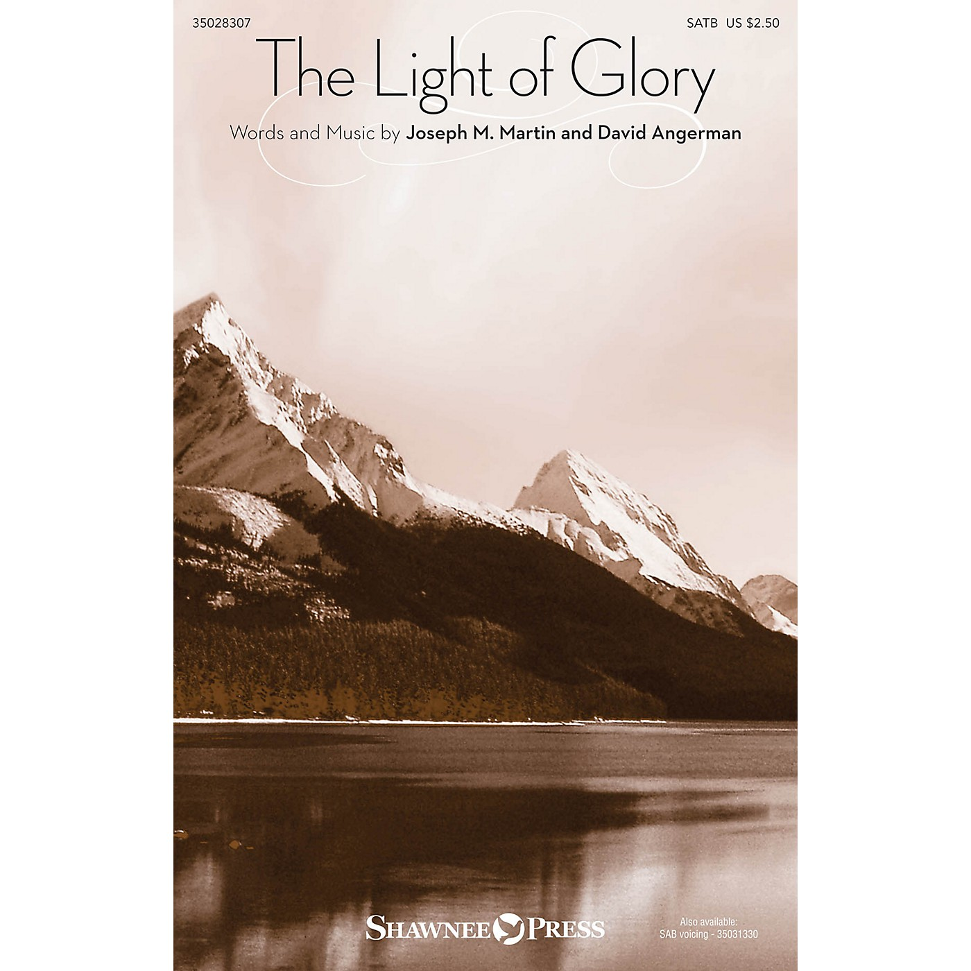 Shawnee Press The Light of Glory SATB composed by Joseph M. Martin thumbnail