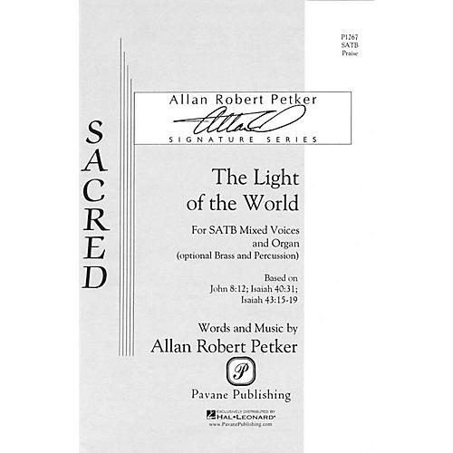 Pavane The Light of the World SATB composed by Allan Robert Petker thumbnail