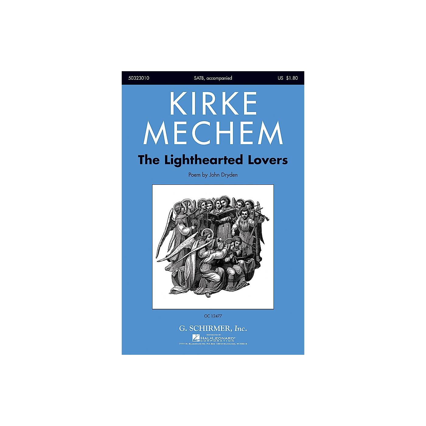 G. Schirmer The Lighthearted Lovers SATB composed by Kirke Mechem thumbnail