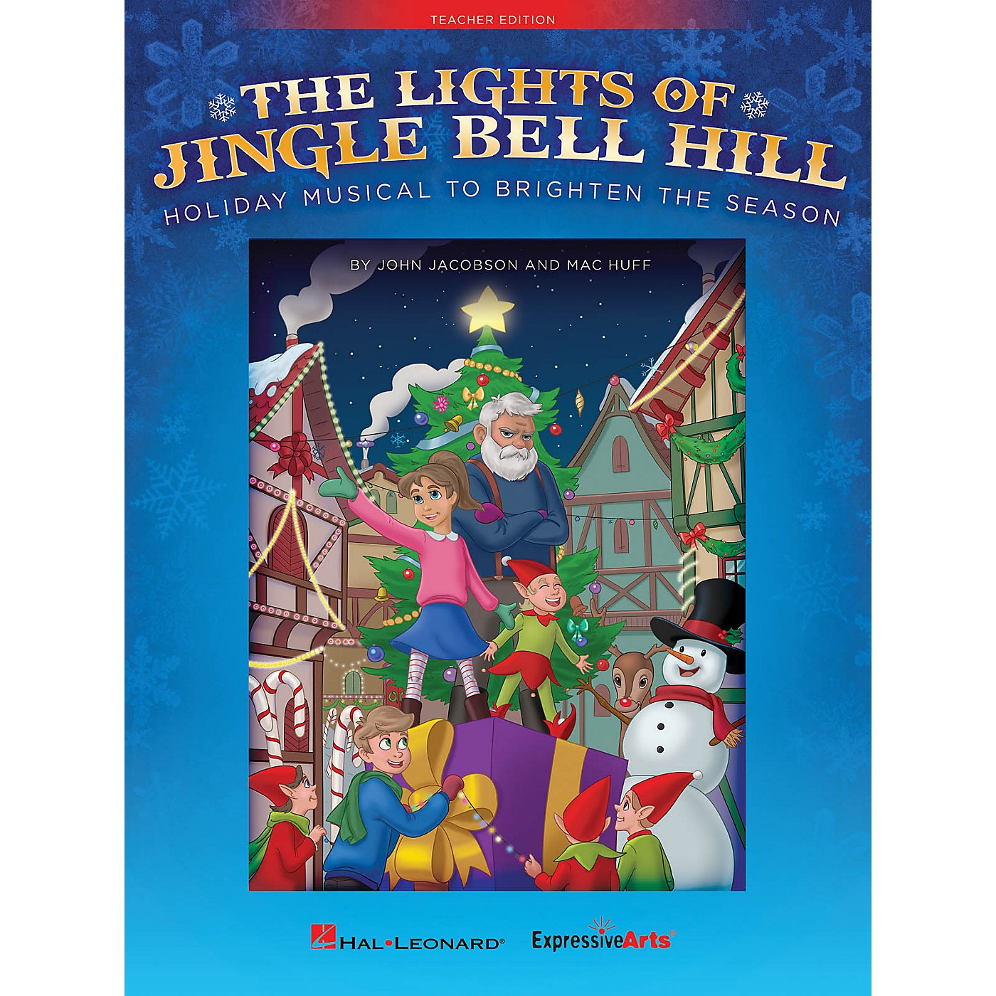 Hal Leonard The Lights of Jingle Bell Hill (Holiday Musical to Brighten the Season) Singer 10 Pak by John Jacobson thumbnail