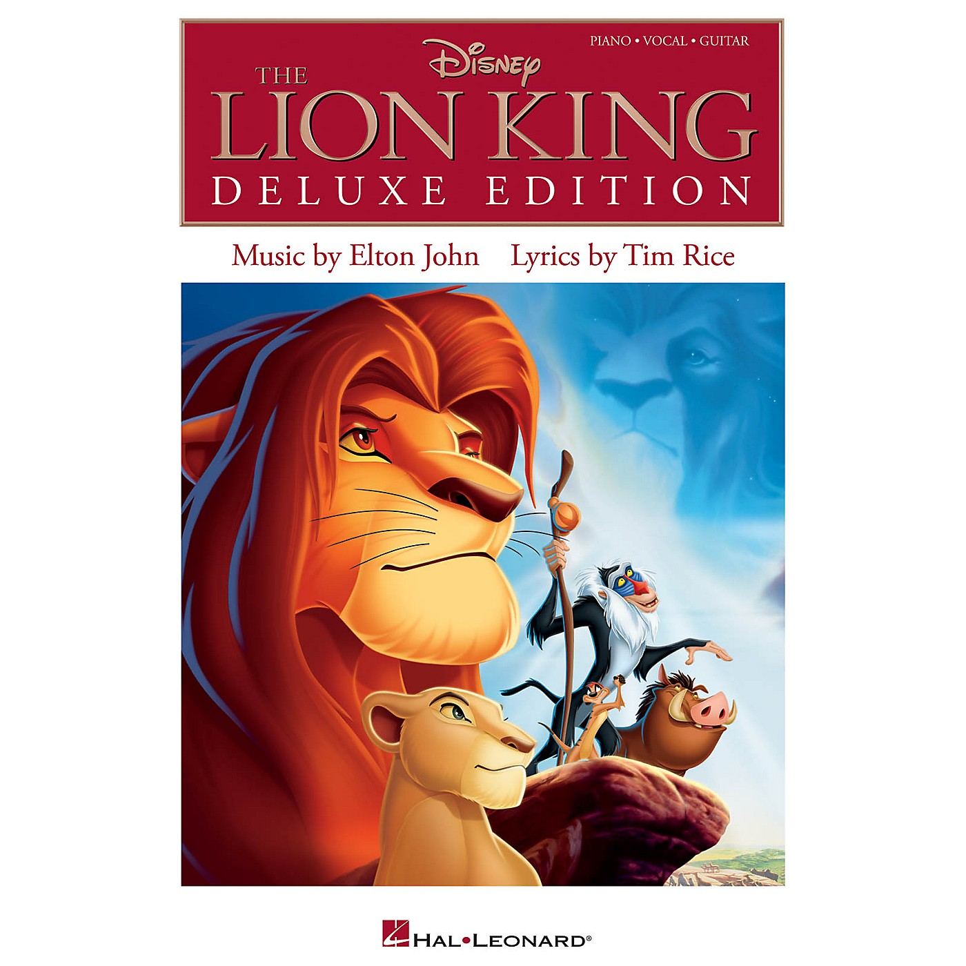 Hal Leonard The Lion King Deluxe Edition for Piano/Vocal/Guitar thumbnail