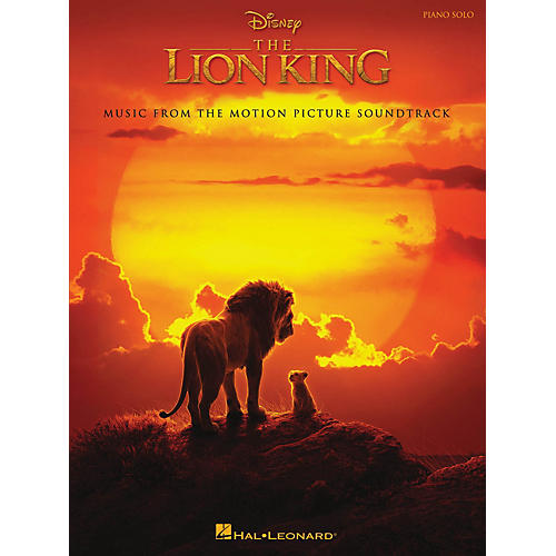 Hal Leonard The Lion King (Music from the Disney Motion Picture Soundtrack) Piano Solo Songbook thumbnail