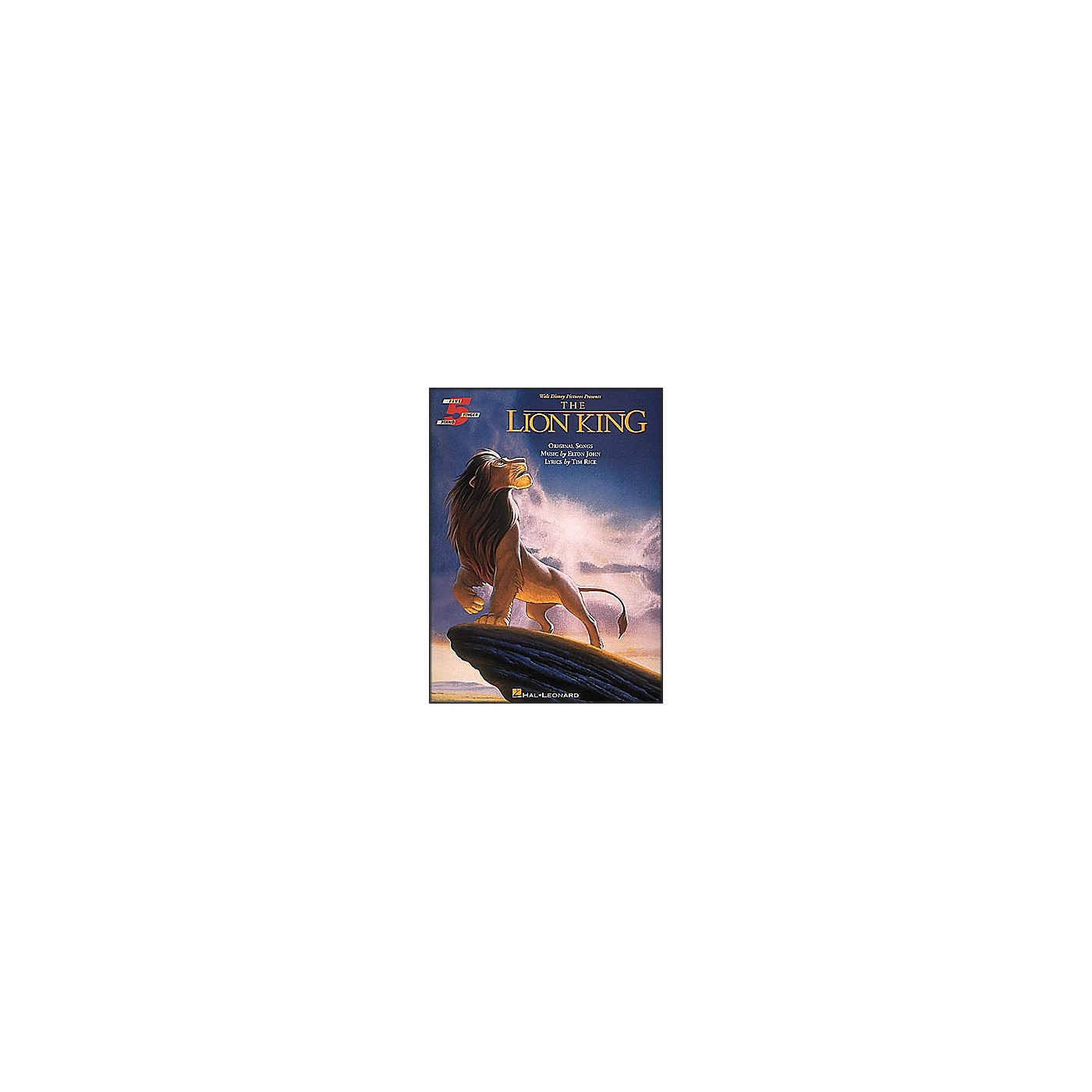 Hal Leonard The Lion King for Five Finger Piano thumbnail