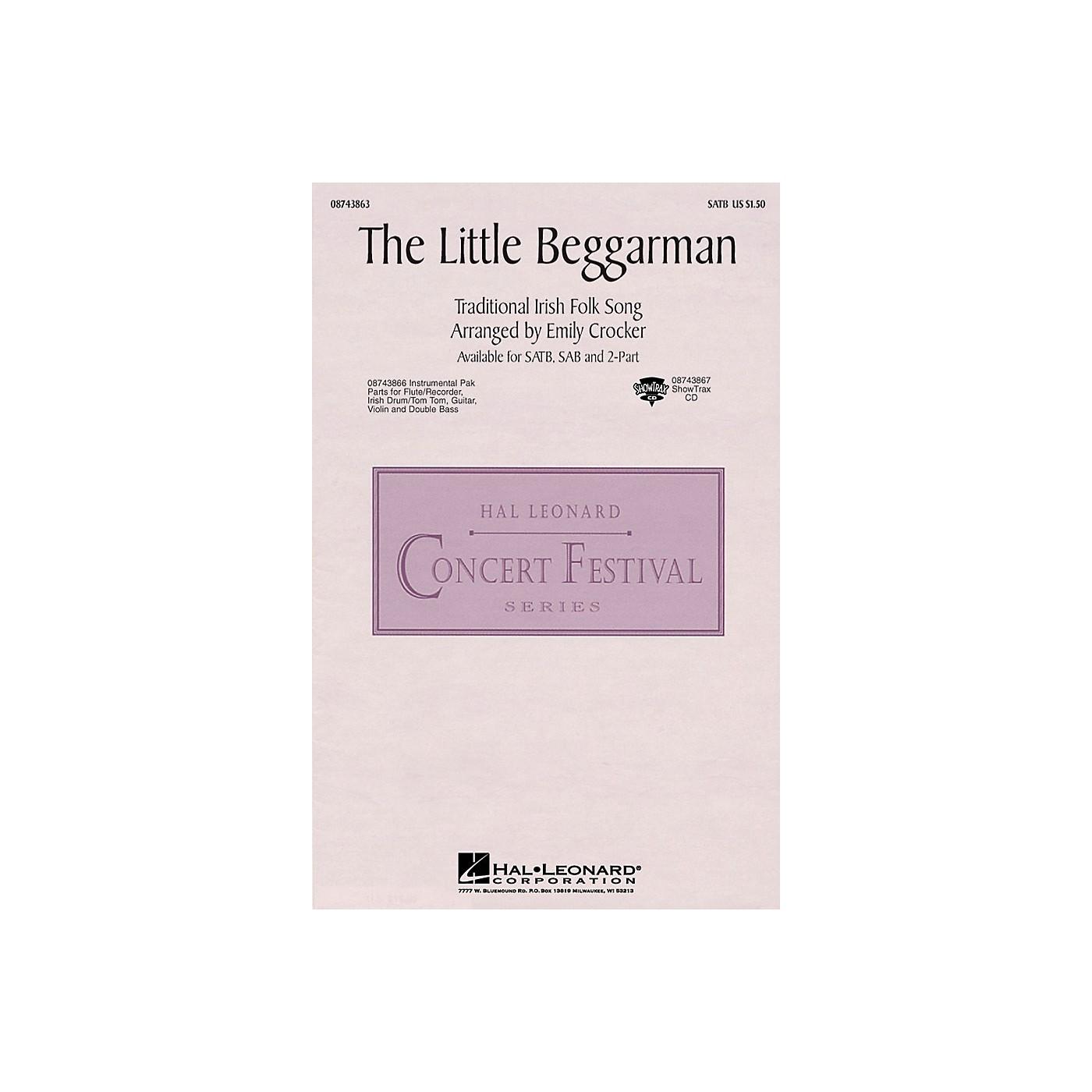 Hal Leonard The Little Beggarman IPAKS Arranged by Emily Crocker thumbnail
