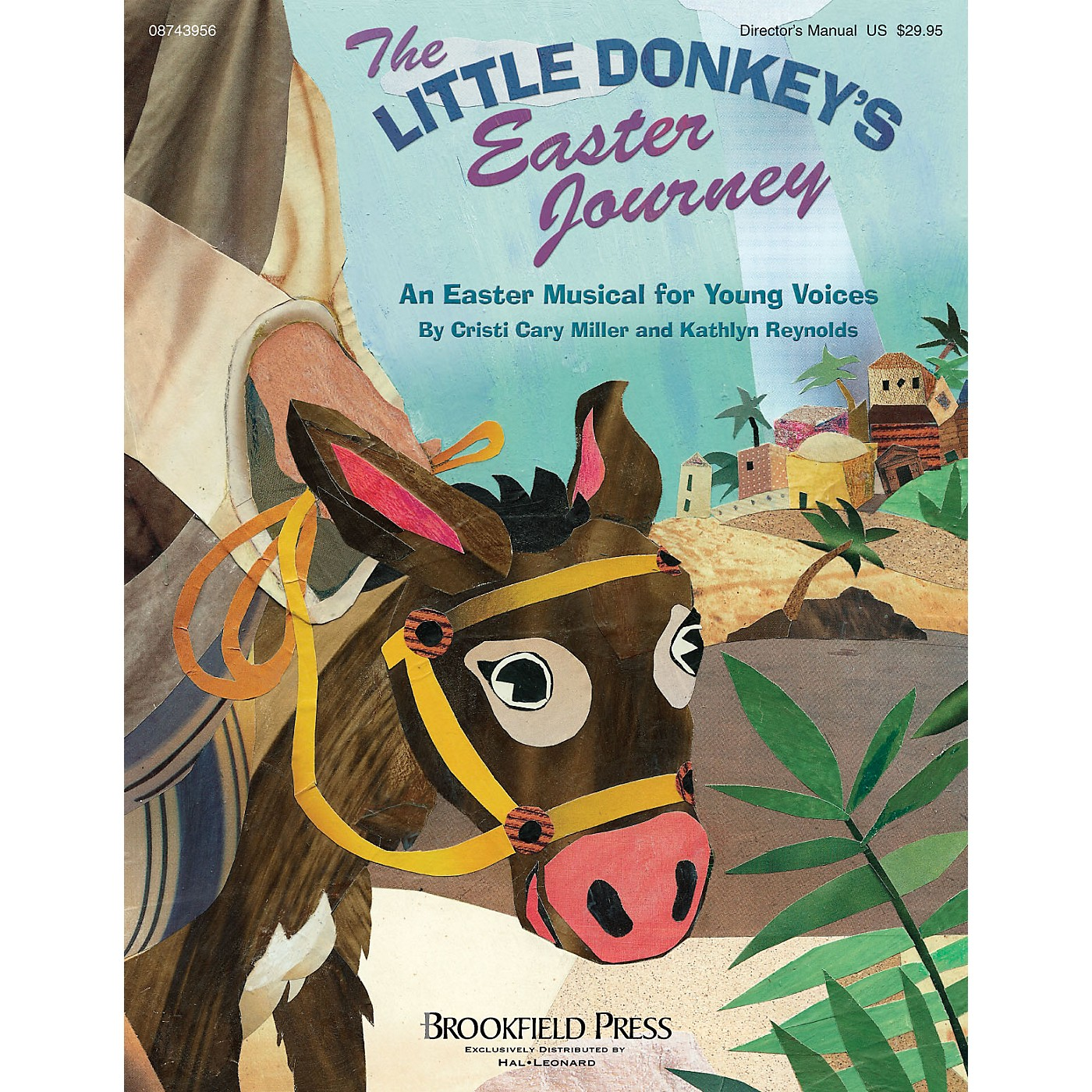 Brookfield The Little Donkey's Easter Journey CHOIRTRAX CD thumbnail