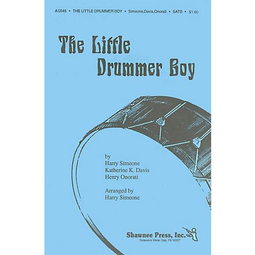 Shawnee Press The Little Drummer Boy TTBB Arranged by Harry Simeone thumbnail