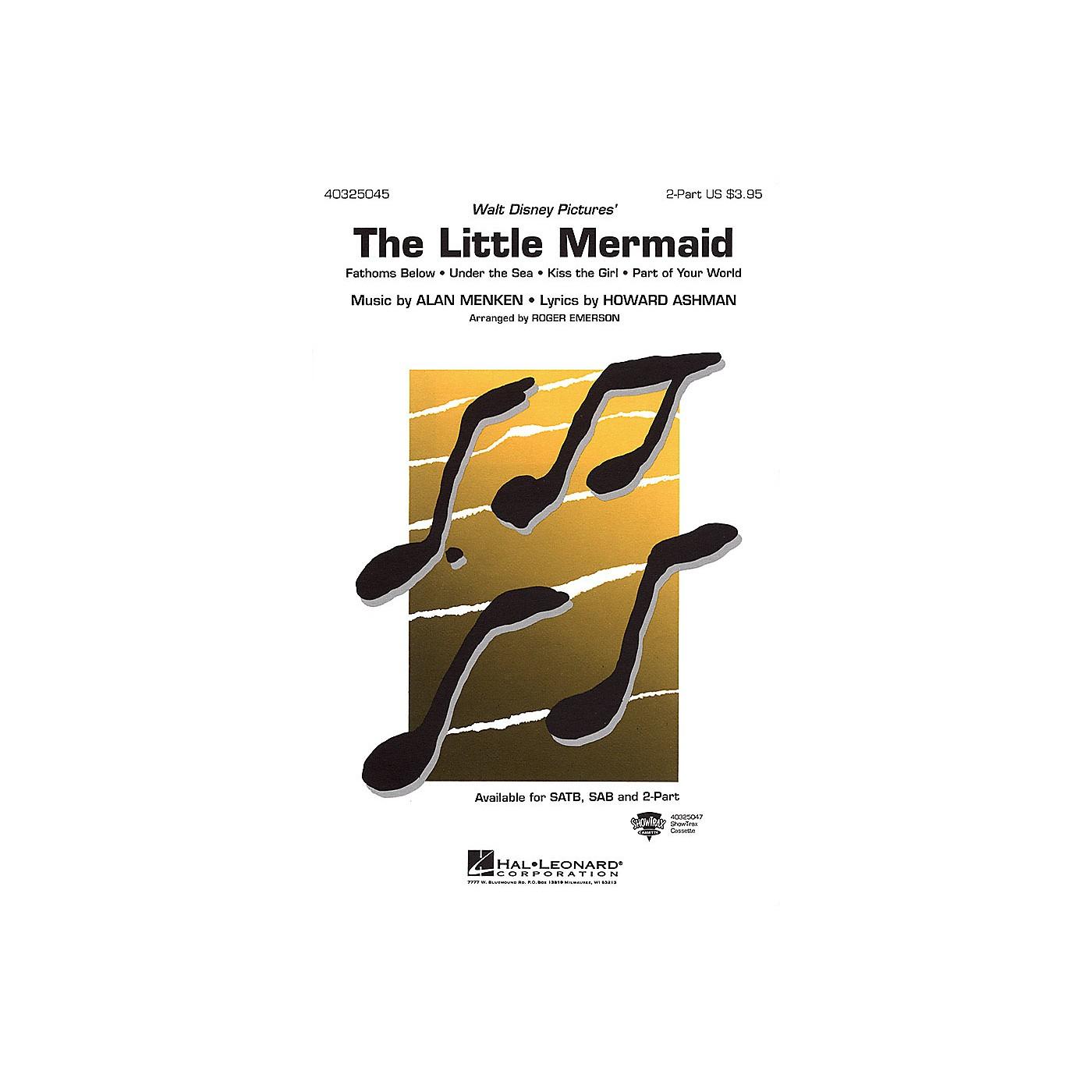 Hal Leonard The Little Mermaid (Medley) SAB Arranged by Roger Emerson thumbnail