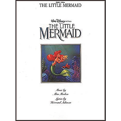 Hal Leonard The Little Mermaid Piano, Vocal, Guitar Songbook-thumbnail