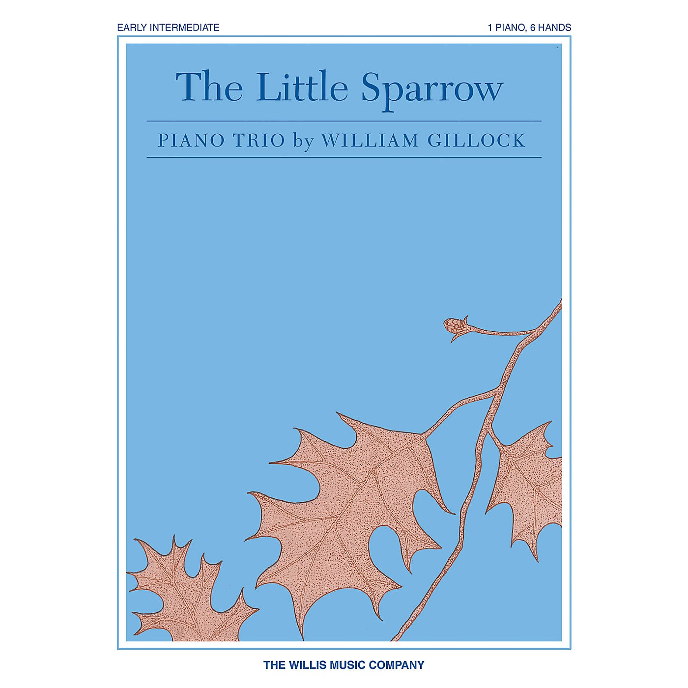 Willis Music The Little Sparrow Willis Series by William Gillock (Level Mid-Elem) thumbnail