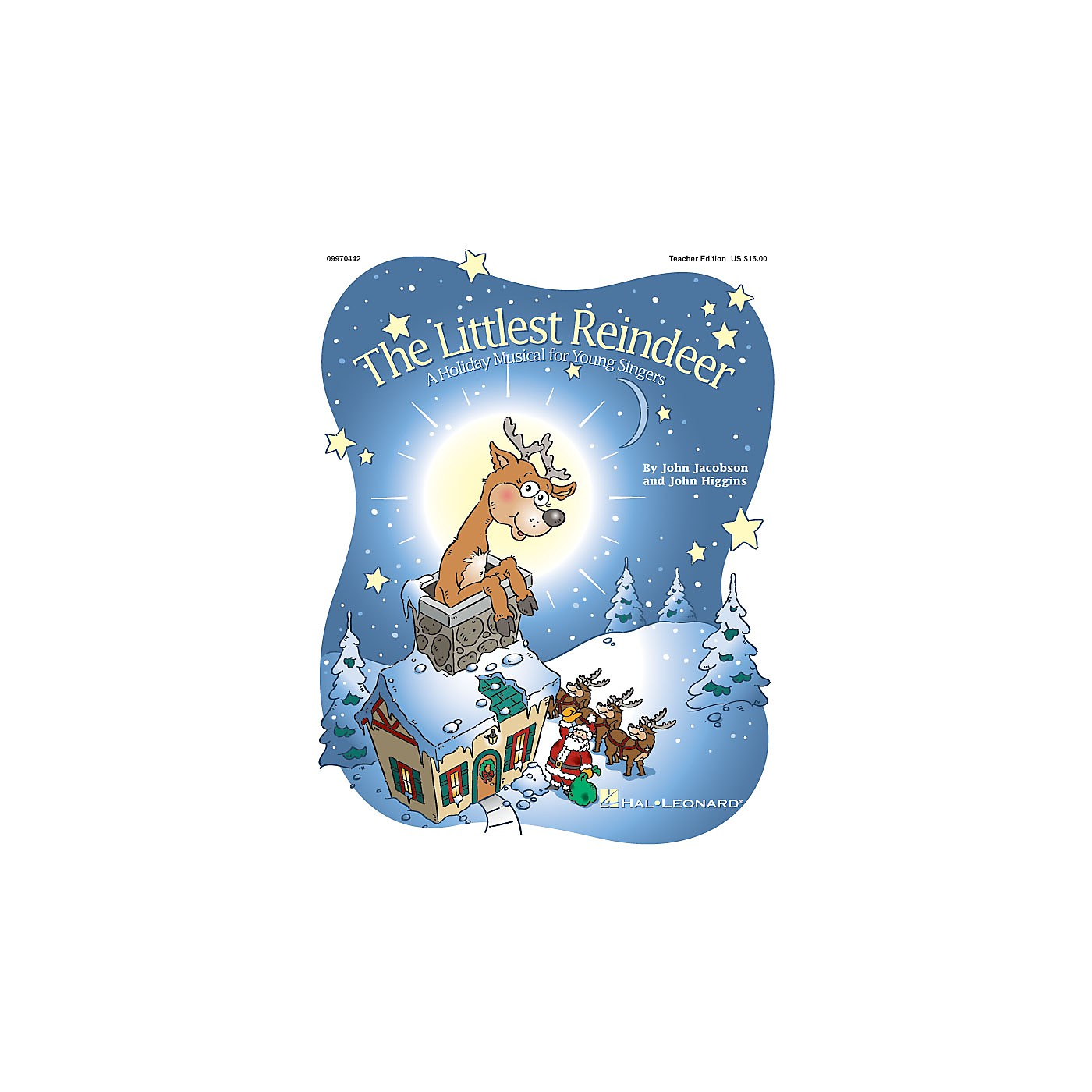 Hal Leonard The Littlest Reindeer (Holiday Musical) (A Holiday Musical About Giving) CLASSRM KIT by John Higgins thumbnail