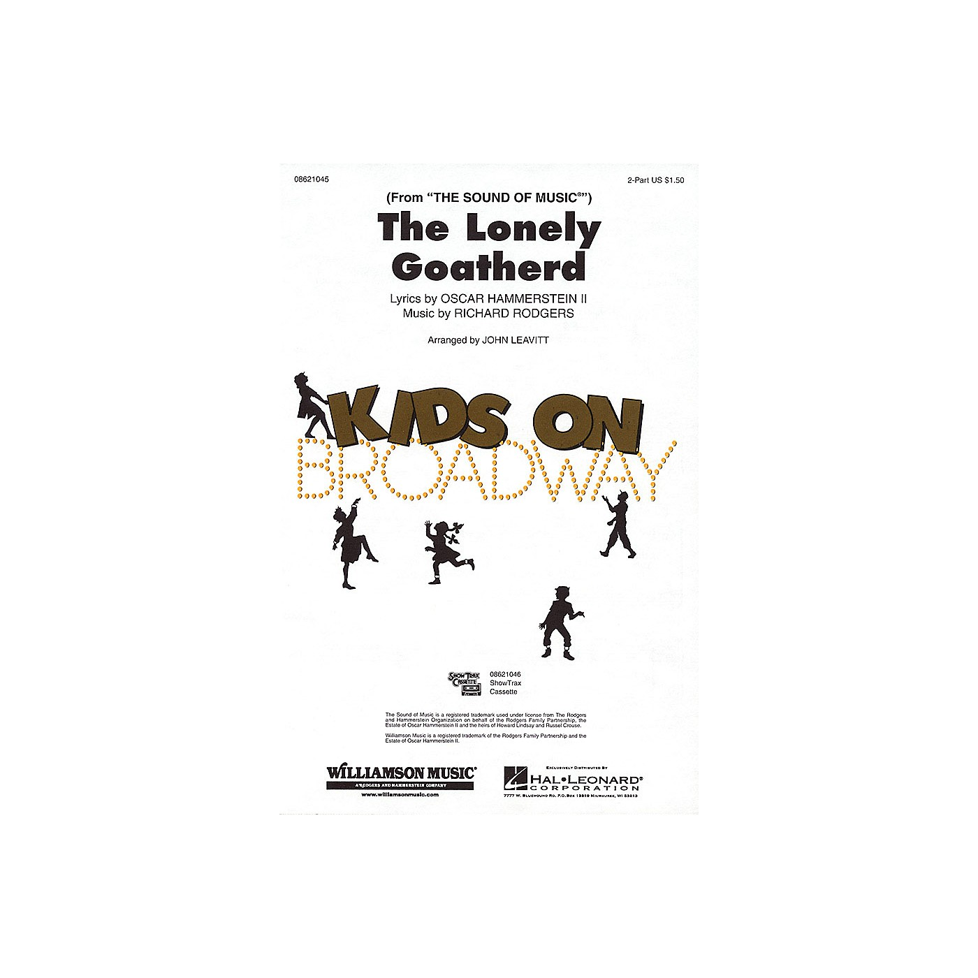 Hal Leonard The Lonely Goatherd (from The Sound of Music) 2-Part arranged by John Leavitt thumbnail
