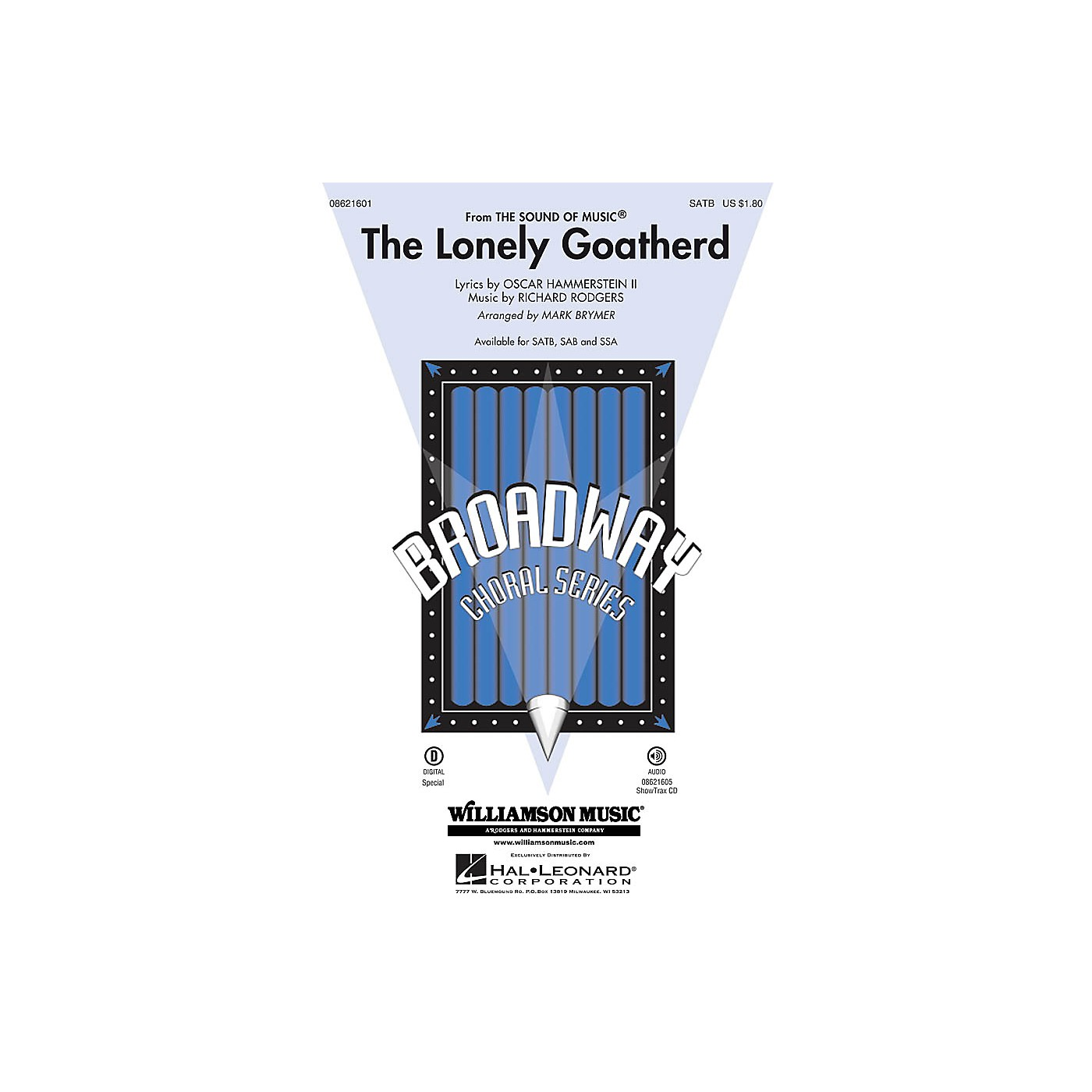 Hal Leonard The Lonely Goatherd (from The Sound of Music) ShowTrax CD Arranged by Mark Brymer thumbnail