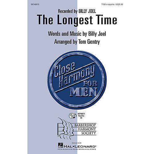 Hal Leonard The Longest Time VoiceTrax CD by Billy Joel Arranged by Tom Gentry thumbnail