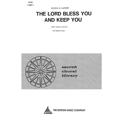 Boston Music The Lord Bless You and Keep You SATB Composed by Peter Lutkin thumbnail