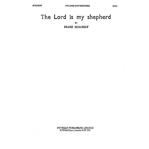 Novello The Lord Is My Shepherd SSAA Composed by Franz Schubert thumbnail