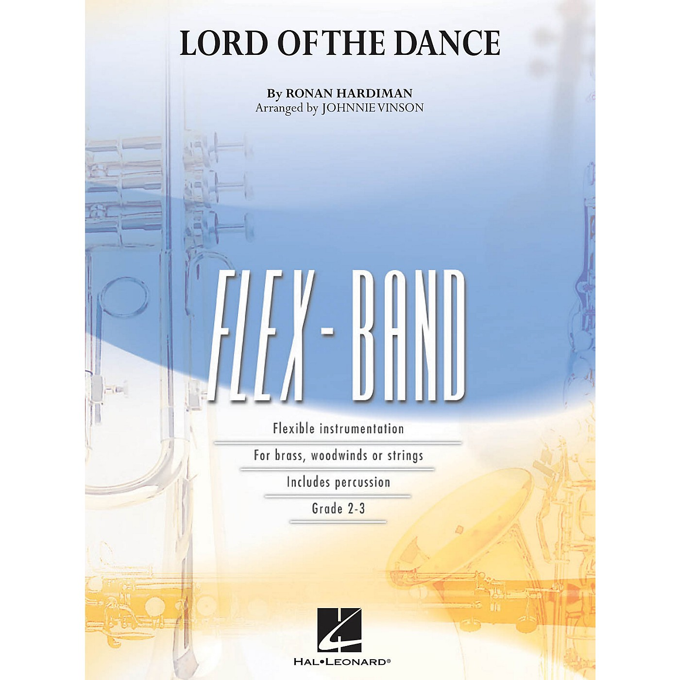 Hal Leonard The Lord of the Dance Concert Band Level 2-3 Arranged by Johnnie Vinson thumbnail