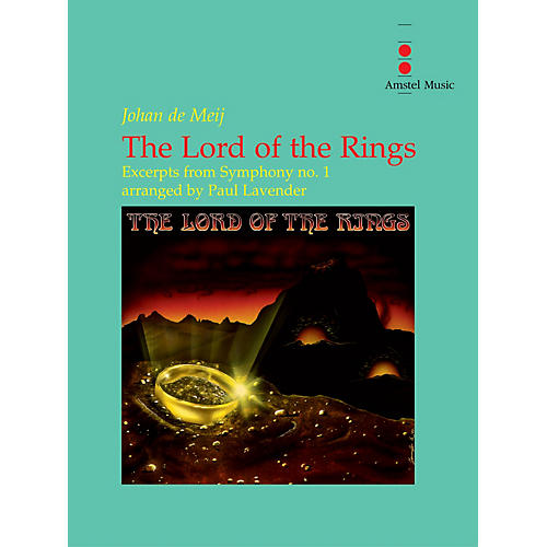 Amstel Music The Lord of the Rings (Excerpts from Symphony No. 1) - Concert Band Level 3.5 Arranged by Paul Lavender thumbnail