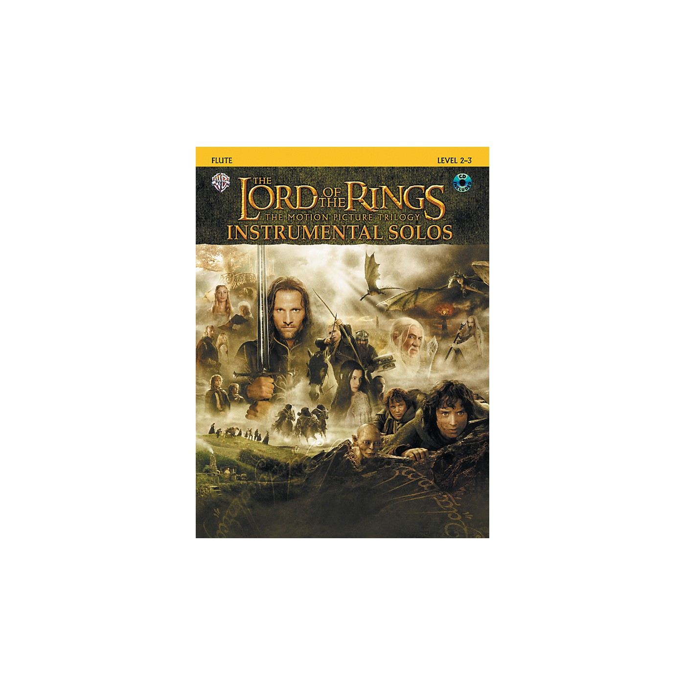 Alfred The Lord of the Rings Instrumental Solos Flute Book & CD thumbnail