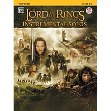 Alfred The Lord of the Rings Instrumental Solos Trombone (Book & CD)