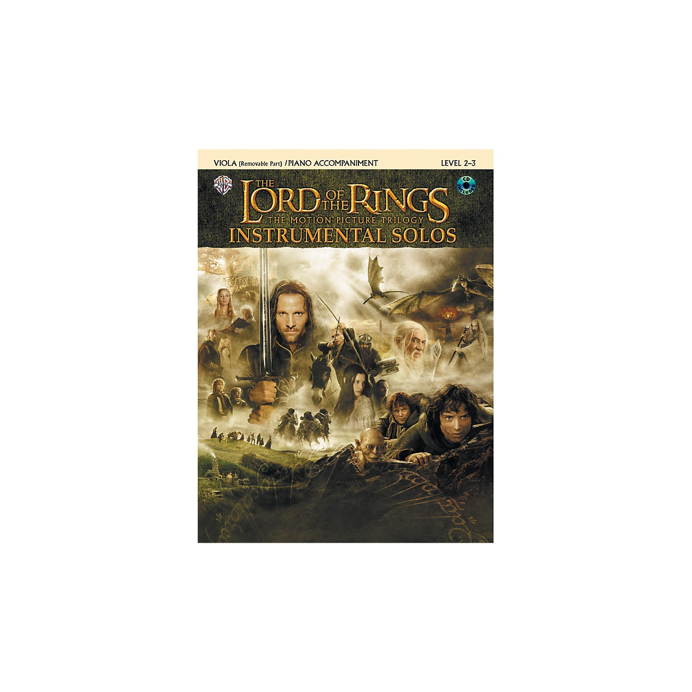 Alfred The Lord of the Rings Instrumental Solos for Strings Viola Book (with Piano Acc.) & CD thumbnail