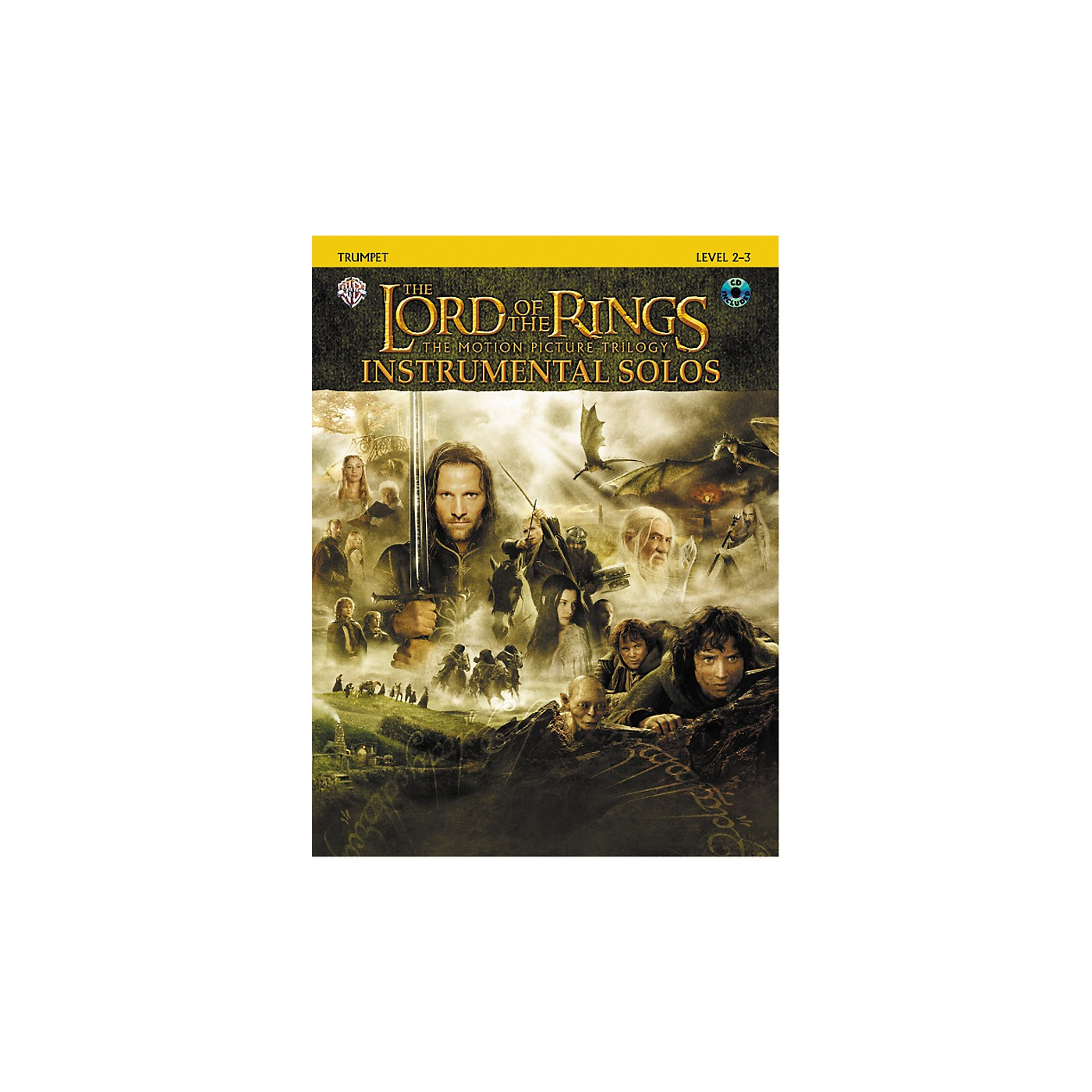 Alfred The Lord of the Rings Trumpet Instrumental Solos Book & CD thumbnail