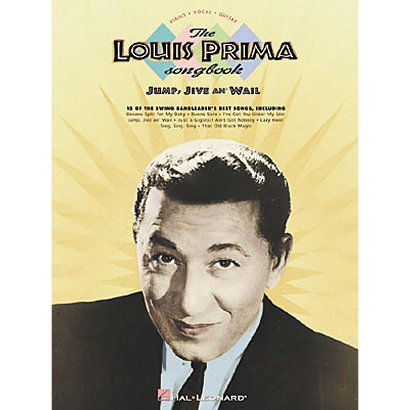 Hal Leonard The Louis Prima Piano, Vocal, Guitar Songbook thumbnail