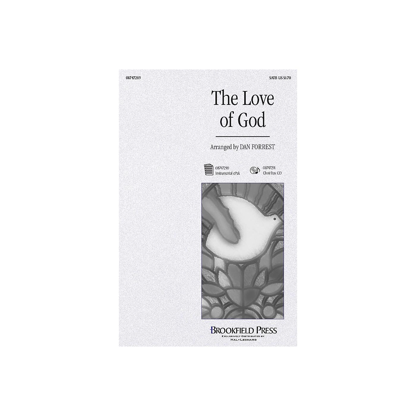 Hal Leonard The Love of God CHOIRTRAX CD Arranged by Dan Forrest thumbnail
