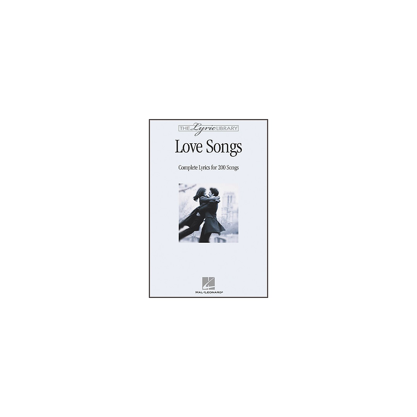 Hal Leonard The Lyric Library: Love Songs Book thumbnail