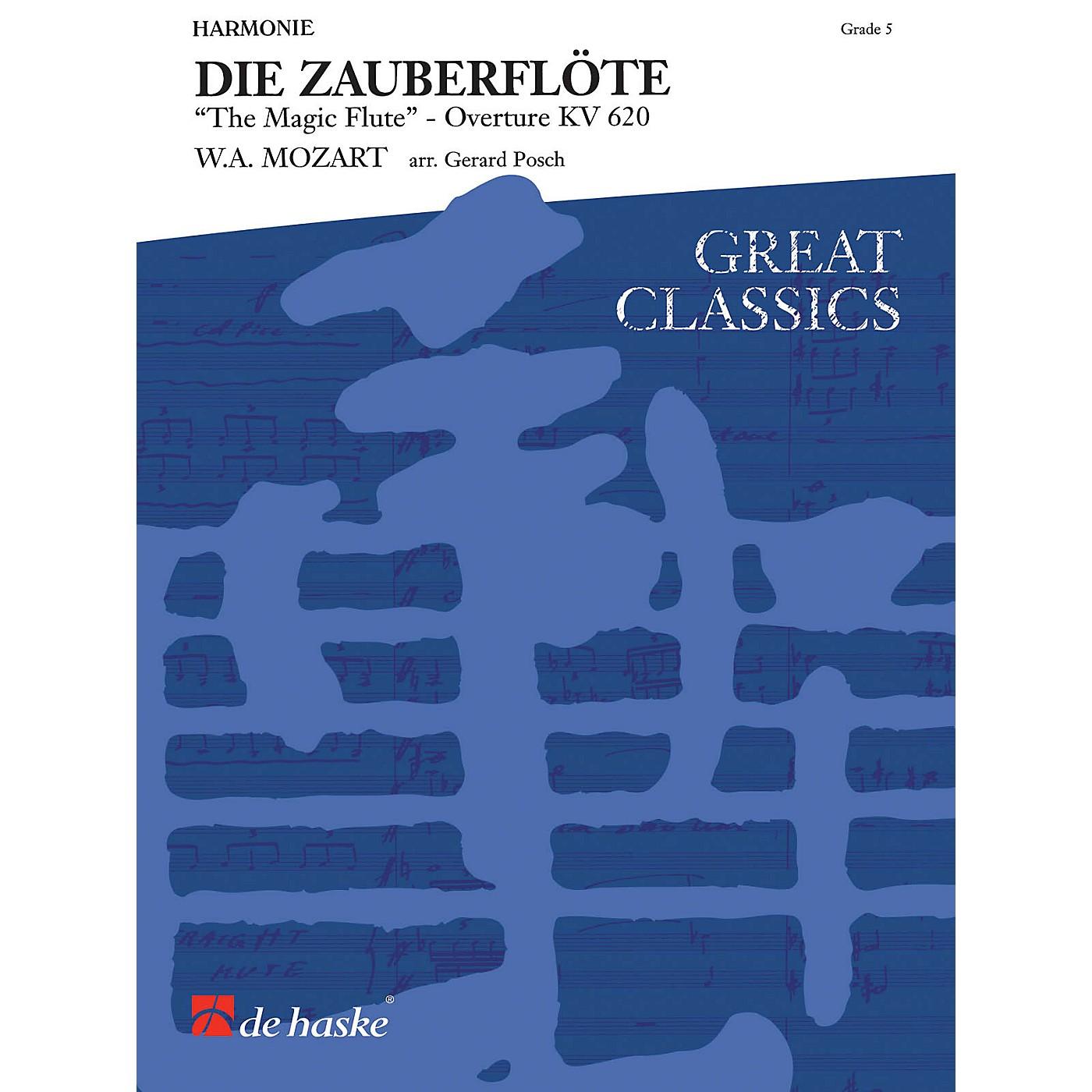 De Haske Music The Magic Flute Concert Band Arranged by Gerard Posch thumbnail