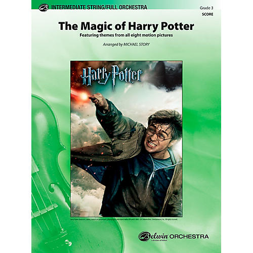 Alfred The Magic of Harry Potter Full Orchestra Grade 3 Set thumbnail
