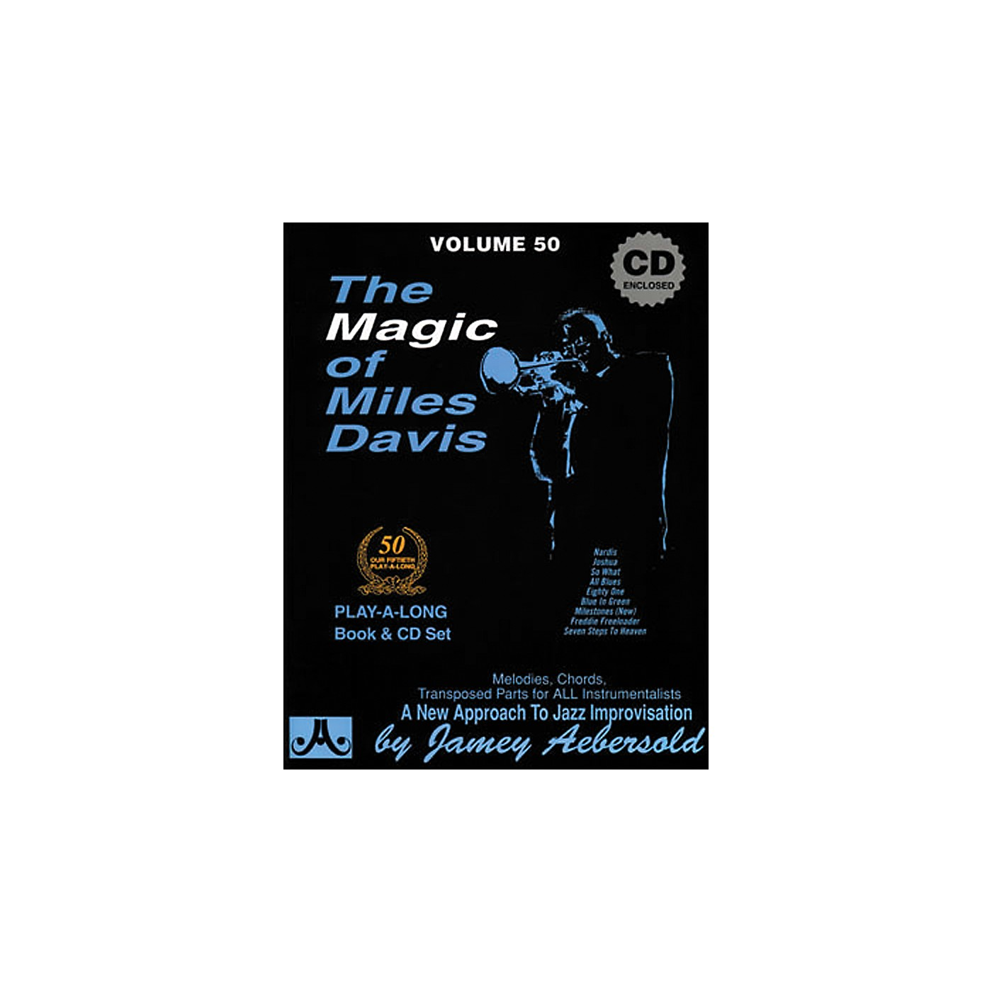 Jamey Aebersold The Magic of Miles Davis Play-Along Book and CD thumbnail