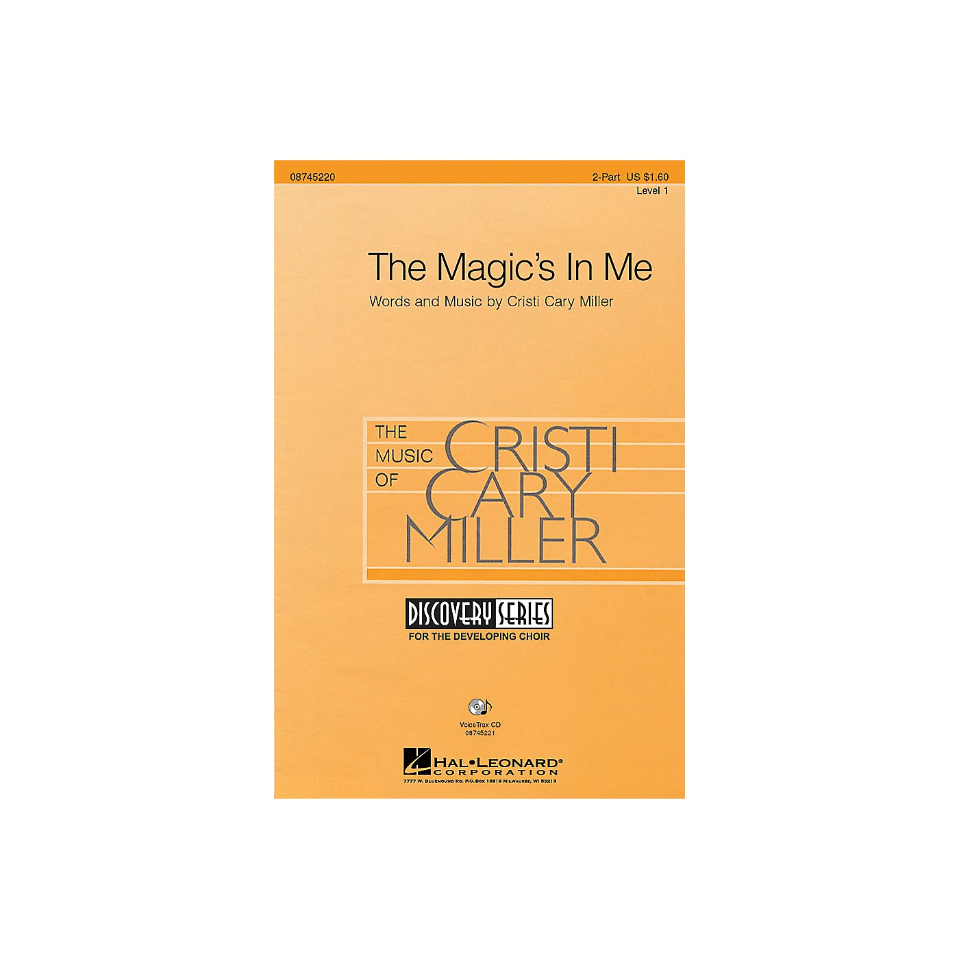 Hal Leonard The Magic's in Me 2-Part composed by Cristi Cary Miller thumbnail