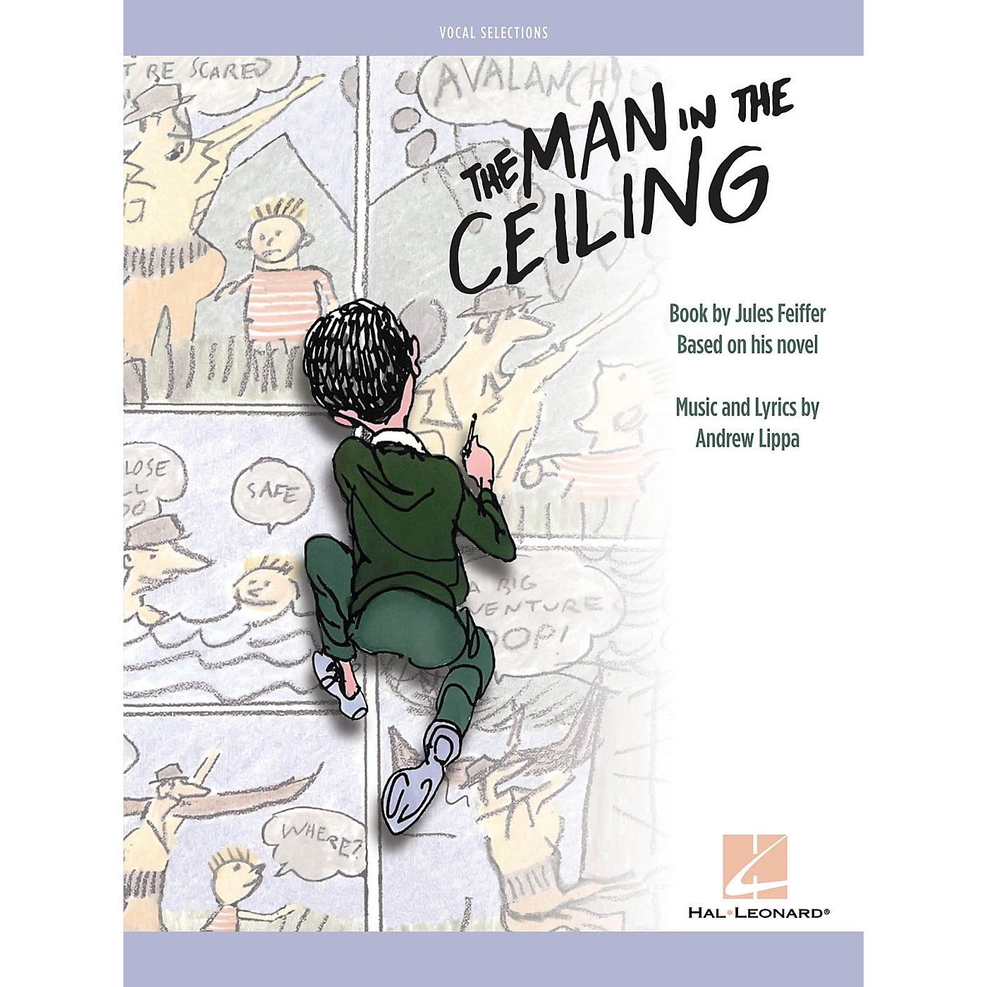 Hal Leonard The Man in the Ceiling Vocal Selections thumbnail