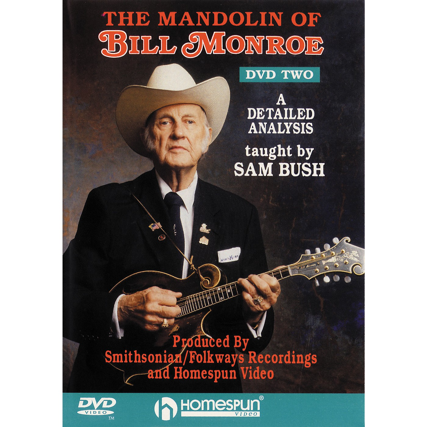 Homespun The Mandolin of Bill Monroe 2 (DVD) thumbnail