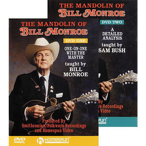 Homespun The Mandolin of Bill Monroe (DVD Set)-thumbnail