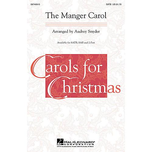 Hal Leonard The Manger Carol 2-Part Arranged by Audrey Snyder thumbnail