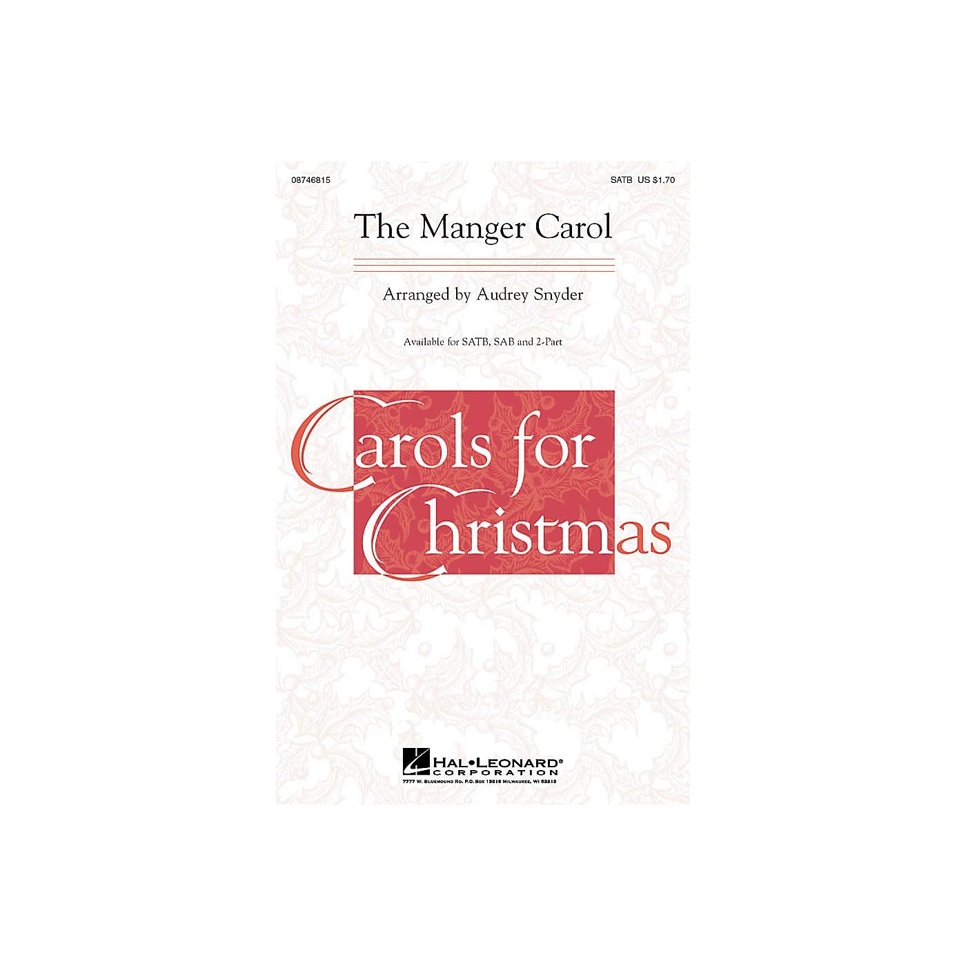 Hal Leonard The Manger Carol SATB arranged by Audrey Snyder thumbnail
