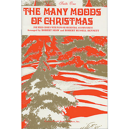Alfred The Many Moods of Christmas Suite 1 SATB thumbnail