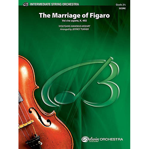 Alfred The Marriage of Figaro String Orchestra Grade 2.5 Set thumbnail