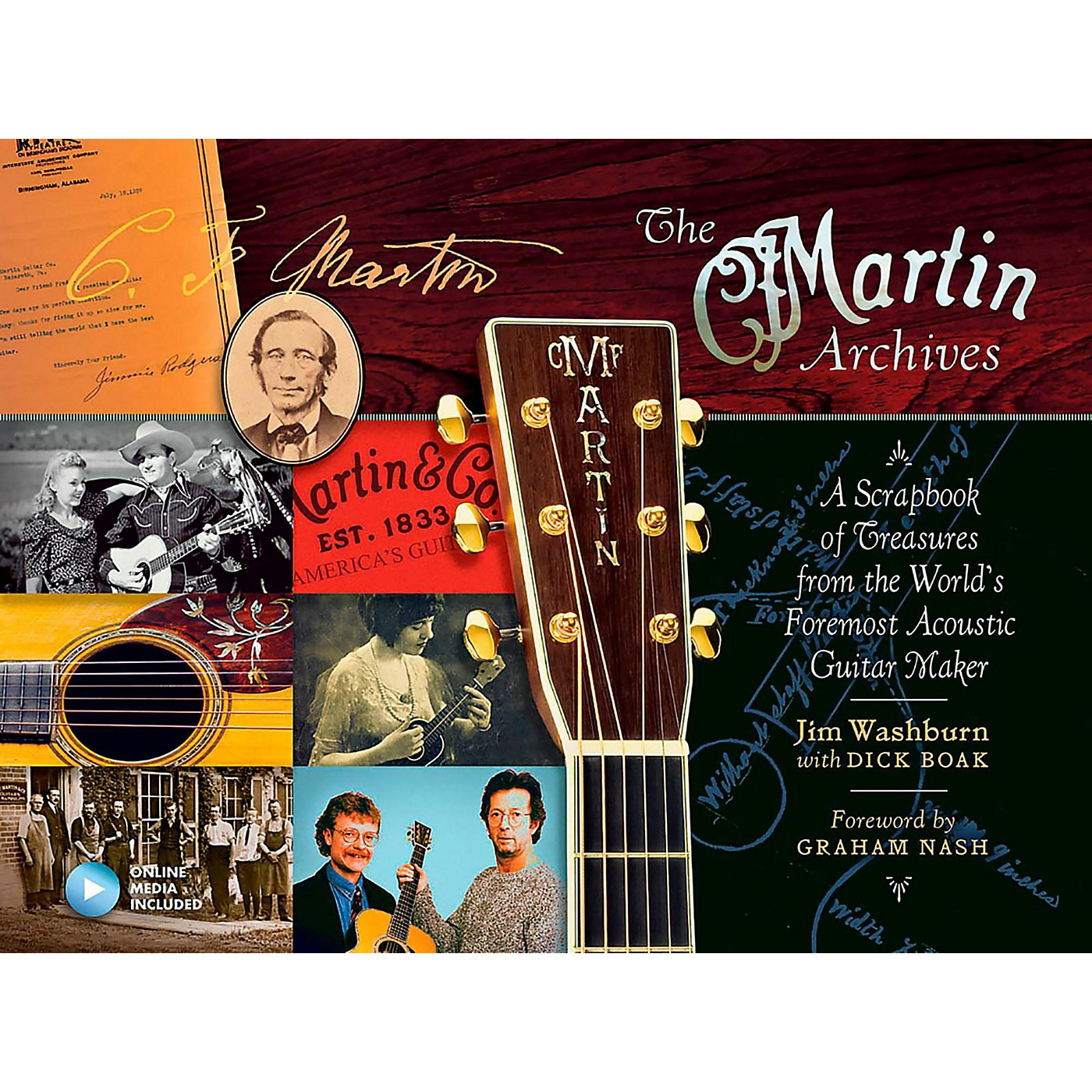 Hal Leonard The Martin Archives - A Scrapbook of Treasures from the World's Foremost Acoustic Guitar Maker thumbnail