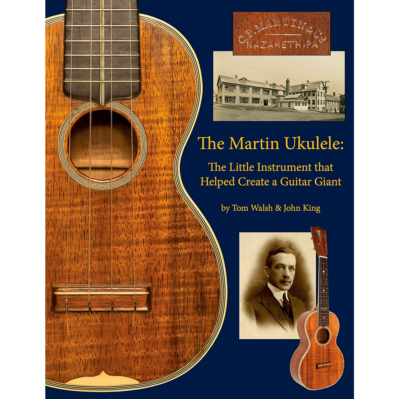 Hal Leonard The Martin Ukulele: The Little Instrument That Helped Create A Guitar Giant thumbnail